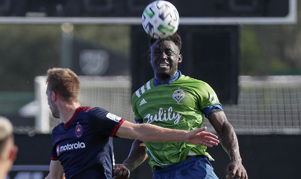 Sounders fall 2-1 to Chicago in second match of MLS is Back tournament