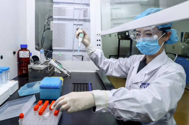 Chinese firm using execs, workers to 'pre-test' coronavirus vaccine
